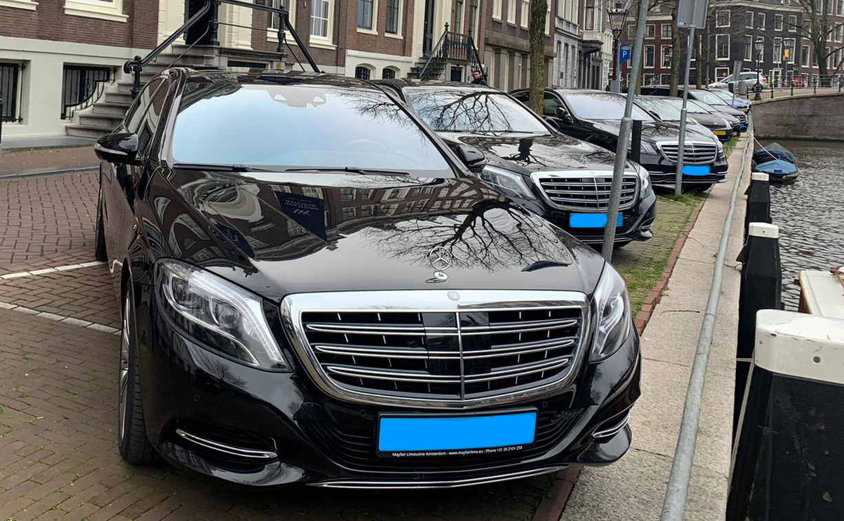 VIP Hotel Transfer Service for Waldorf Hotel Amsterdam with Maybach